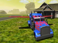 Flying Car : Transformer Truck 2 Screenshot