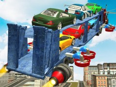 Flying Car Transport Truck 3D 1.1 Screenshot