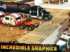 Flying City :: Cargo Truck Hill Climb n Parking 1.0 Screenshot