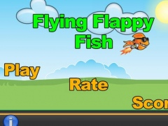 Flying Flappy Fish HD 1.0 Screenshot