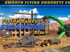 Flying Heavy Excavator Sim 2.0 Screenshot