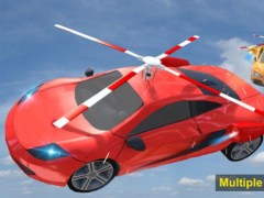 Flying Helicopter Car: Futuristic Autopilot Flight 2.1 Screenshot