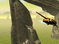 Flying Muscle Car Simulator 3D 2 Screenshot