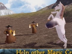 Flying Pegasus: Magic Horse Simulator 3D 1.1 Screenshot