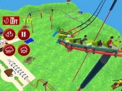 Flying Roller Coaster 3D Pro 1.0 Screenshot