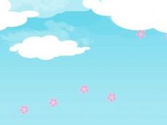 Flying Sakuras Free - Live classic sweat with pink bird game App 1.0 Screenshot
