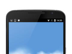 Flying Through Clouds HD LWP 1.1 Screenshot