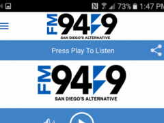 FM 949 San Diego / KBZT 3.0 Screenshot