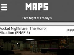 FNAF Maps for Minecraft PE - Best Map Free Download