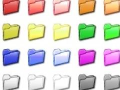Folder Color Icon Set 1.0 Screenshot