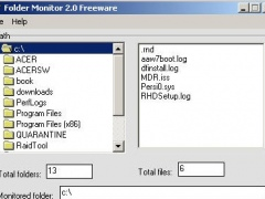 Folder Monitor 2.1 Screenshot