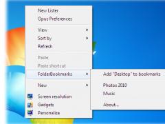 FolderBookmarks 1.0 Screenshot