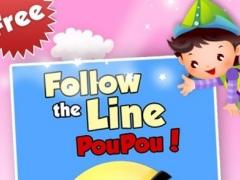Follow The Line Pou Pou 1.6 Screenshot