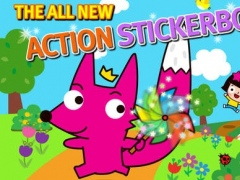 Fong! Character Action Stickers for iPhone 1.4 Screenshot