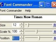 Font Commander 1.1 Screenshot