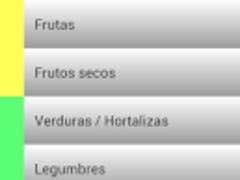 Food calories Spanish 4 Screenshot