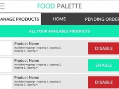 Food Palette-For Business 1.0 Screenshot