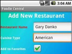 Foodie Central Lite (Demo) 1.3 Screenshot