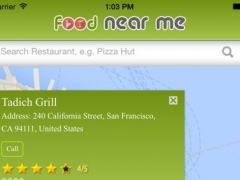 FoodNearMe 1.0 Screenshot