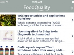 FoodQualityNews 2.1 Screenshot