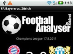 Football A.FC Bayern vs Zürich 1.1 Screenshot
