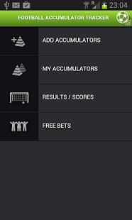 Football Accumulator App