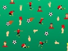 Football emojis 1.0 Screenshot
