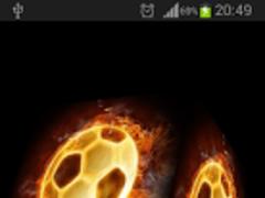 FOOTBALL LIVE WALLPAPER 3D 1.1 Screenshot