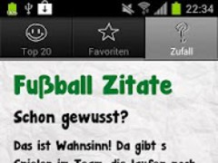 Football Quotes Deluxe 4.1 Screenshot
