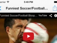 FootballTube - Soccer movies and football amazing videos viewer 4.1.0 Screenshot