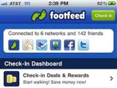 Footfeed 1.1 Screenshot