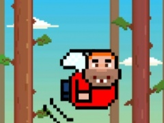 Forest Smash - Tap Trees to Stomp Man 1.0 Screenshot