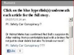 Formula One (F1) News & Rumors 1 Screenshot