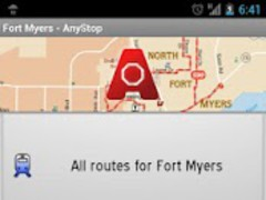 Fort Myers Transit: AnyStop 3.4.4 Screenshot