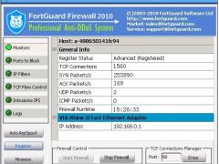 FortGuard Anti-DDoS Firewall standard 2.6 Screenshot