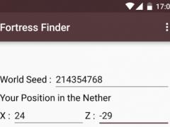 Fortress Finder for Minecraft 1.0.5 Screenshot