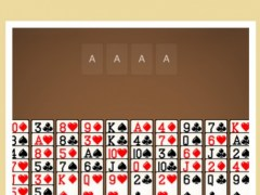 Fortress Solitaire Classic Cards Time Waster Brain Skill Free 1.1 Screenshot