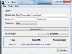 Forum Monitor 0.3.5 Screenshot
