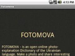 Fotomova 1.0 Screenshot
