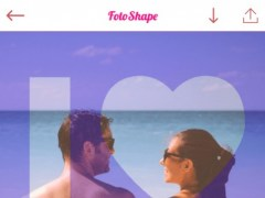 FotoShape - Photo Shape Frame Editor, Lock Screen Image 1.1 Screenshot