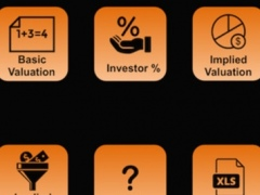 Founder's Pocket App: Startup Valuation 1.0 Screenshot