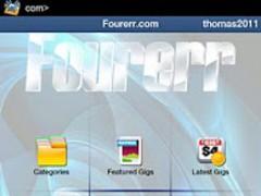 Fourerr Gigs 1.0 Screenshot