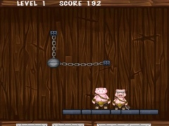 Fox Fight The Pigs Hitting Game - Rolling Cannonball Escape (Free) 1.0 Screenshot