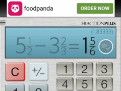 Review Screenshot - Fraction Calculator – Solve Complex Fraction Problems within Seconds