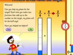 Fraction fiddle: reach the target. 1.0 Screenshot
