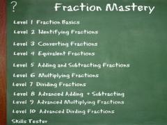 Fraction Mastery 1.0.0 Screenshot