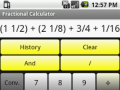 Fractional Calculator 1.5 Screenshot