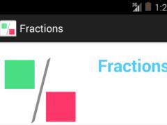 Fractions for Kids. 1.0 Screenshot