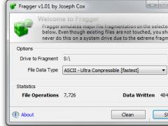 Fragger 1.02 Screenshot