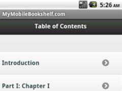 Frankenstein Ebook 1.0 Screenshot